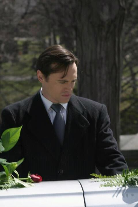 "As Tom Hawkins in the film ""The Word"""
